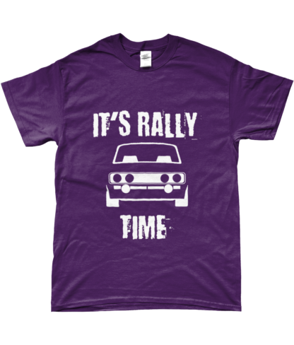 It's Rally Time T-Shirt in Purple