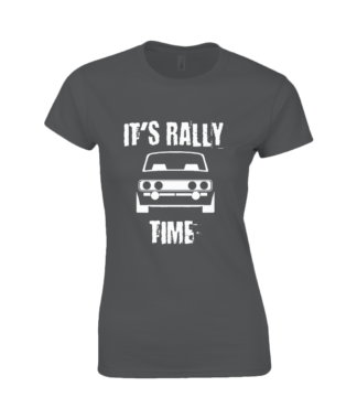 It's Rally Time T-Shirt in Black