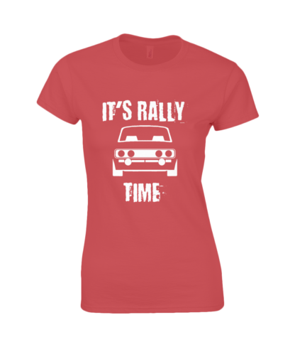It's Rally Time T-Shirt in Red