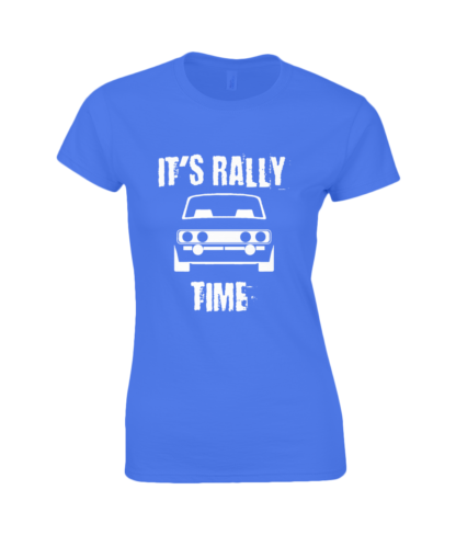 It's Rally Time T-Shirt in Blue