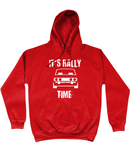 It's Rally Time Hoodie in Red