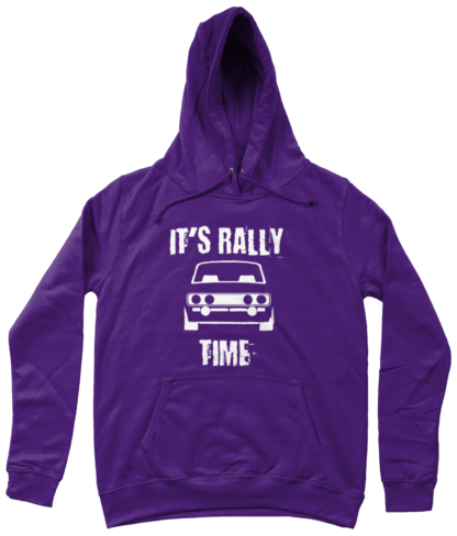 It's Rally Time Hoodie in Purple