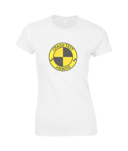 Crash Test Dummy T-Shirt in White