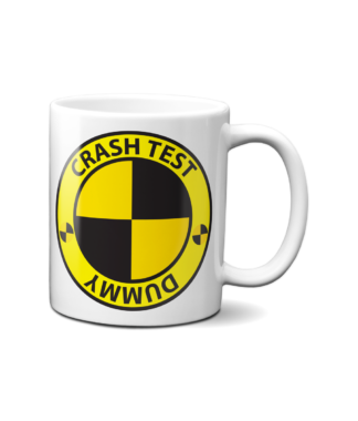 Crash Test Dummy Mug