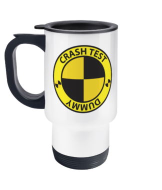 Crash Test Dummy Travel Mug