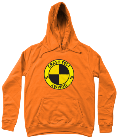 Crash Test Dummy Hoodie in Orange