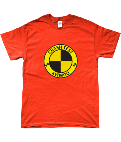 Crash Test Dummy T-Shirt in Orange