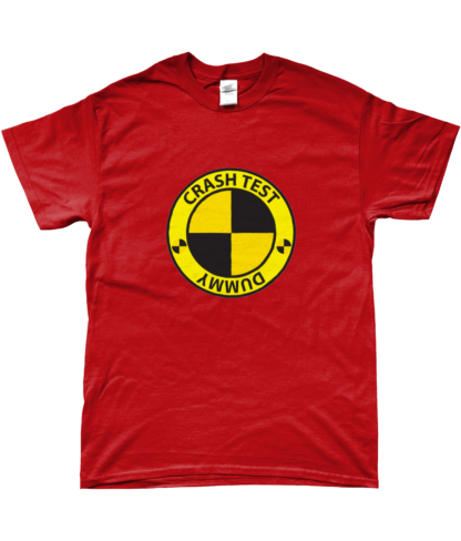 Crash Test Dummy T-Shirt in Red