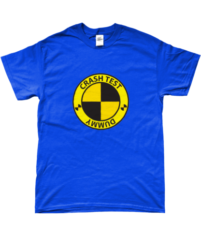 Crash Test Dummy T-Shirt in Blue