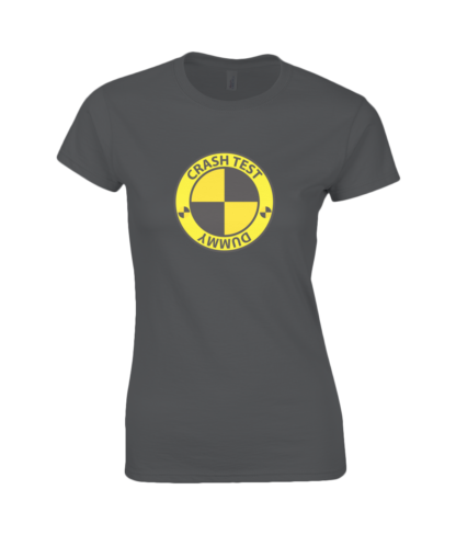 Crash Test Dummy T-Shirt in Black