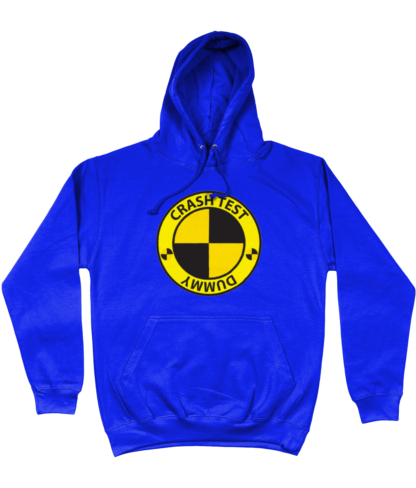Crash Test Dummy Hoodie in Blue