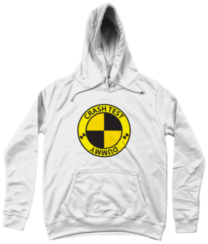 Crash Test Dummy Hoodie in White