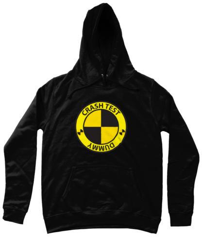Crash Test Dummy Hoodie in Black