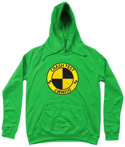 Crash Test Dummy Hoodie in Green