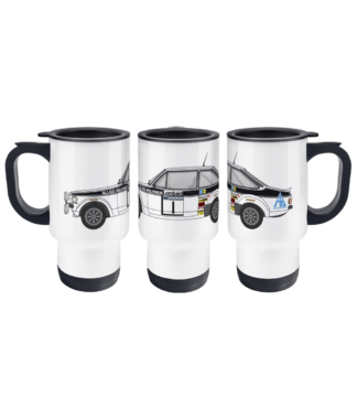 Ford Escort MK2 Allied Polymer Travel Mug