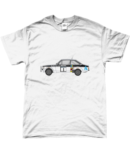 Ford Escort MK2 Allied Polymer T-Shirt in White