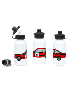 Ford Escort MK2 Colin McRae Water Bottle