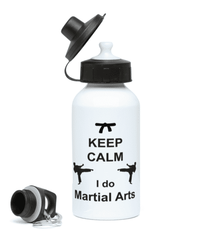 Keep Calm I Do Martial Arts Water Bottle