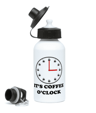 Coffee o'Clock Water Bottle