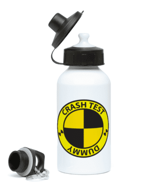 Crash Test Dummy Water Bottle