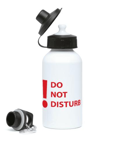Do Not Disturb Water Bottle