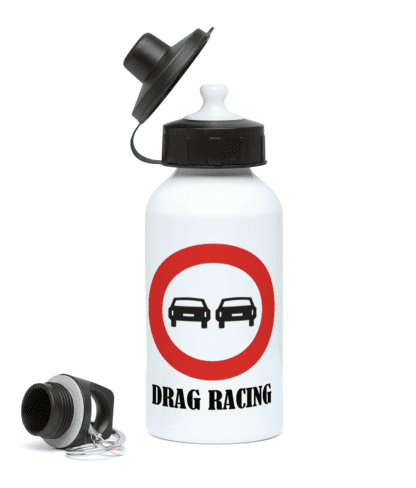Drag Racing Water Bottle