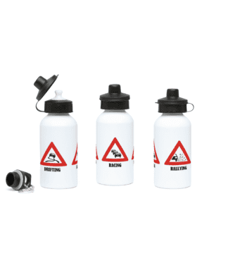 Drifting Racing Rallying Water Bottle