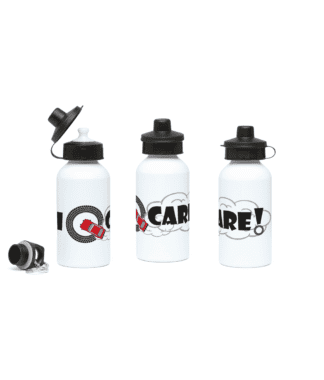 I Donut Care Water Bottle