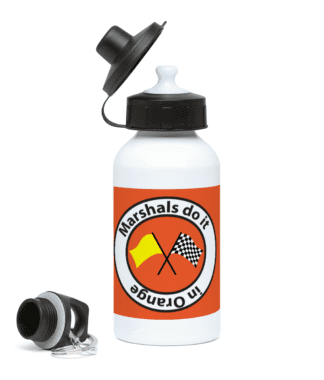 Marshals do it in Orange Water Bottle