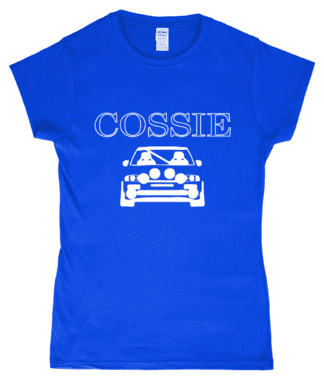 Cossie T-Shirt in Blue