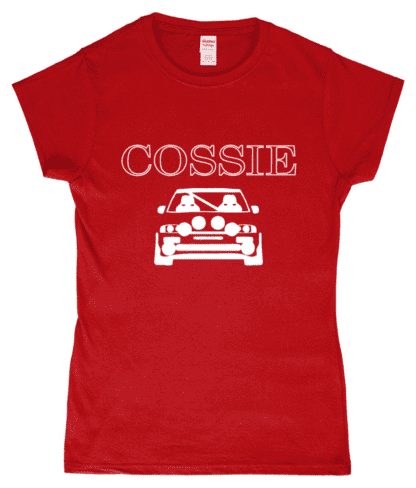 Cossie T-Shirt in Red
