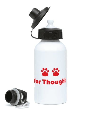 Paws for Thought Water Bottle