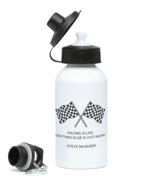 Racing is Life Water Bottle
