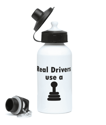 Real Drivers Water Bottle