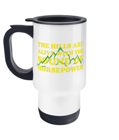 Hills are Alive Travel Mug