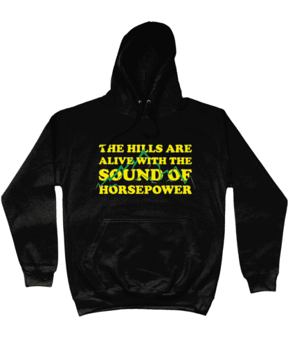 Hills are Alive Hoodie in Black