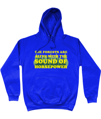 Forests are Alive Hoodie in Blue