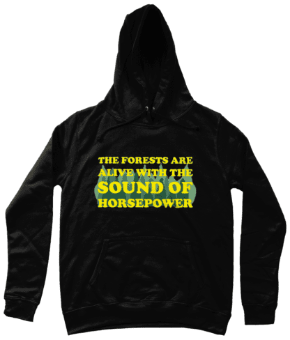 Forests are Alive Hoodie in Black
