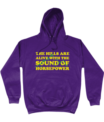 Hills are Alive Hoodie in Purple