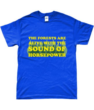 Forests are Alive T-Shirt in Blue