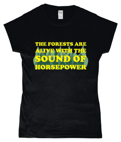 Forests are Alive T-Shirt in Black