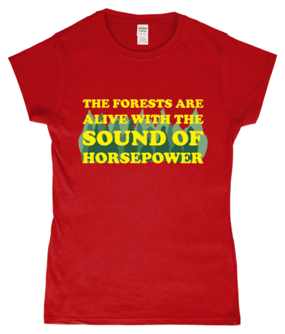 Forests are Alive T-Shirt in Red