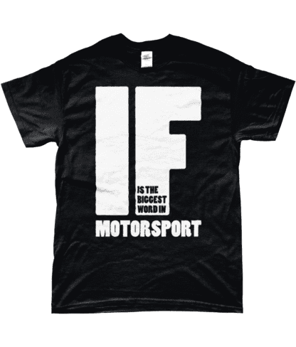 IF is the Biggest Word T-Shirt in Black