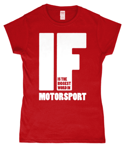 IF is the Biggest Word T-Shirt in Red