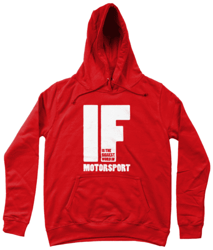 IF is the Biggest Word Hoodie in Red