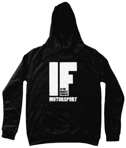 IF is the Biggest Word Hoodie in Black