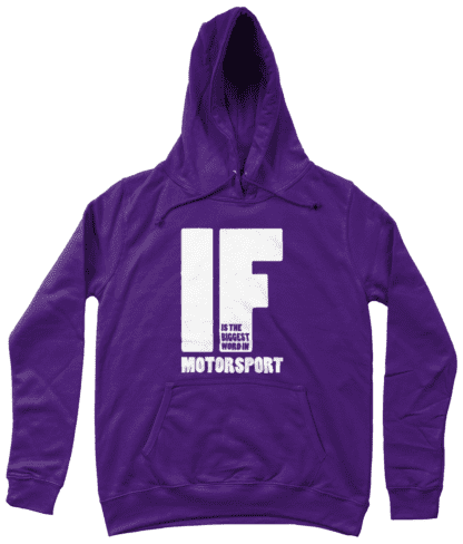 IF is the Biggest Word Hoodie in Purple