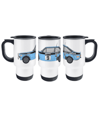 Ford Escort MK2 Li-Lo Travel Mug