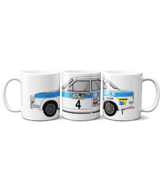 Ford Escort MK1 Uniflo Mug