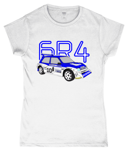 MG Metro 6R4 Computervision T-Shirt in White
